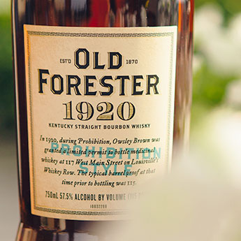 1920 Prohibition Style - Old Forester Whiskey Row Series