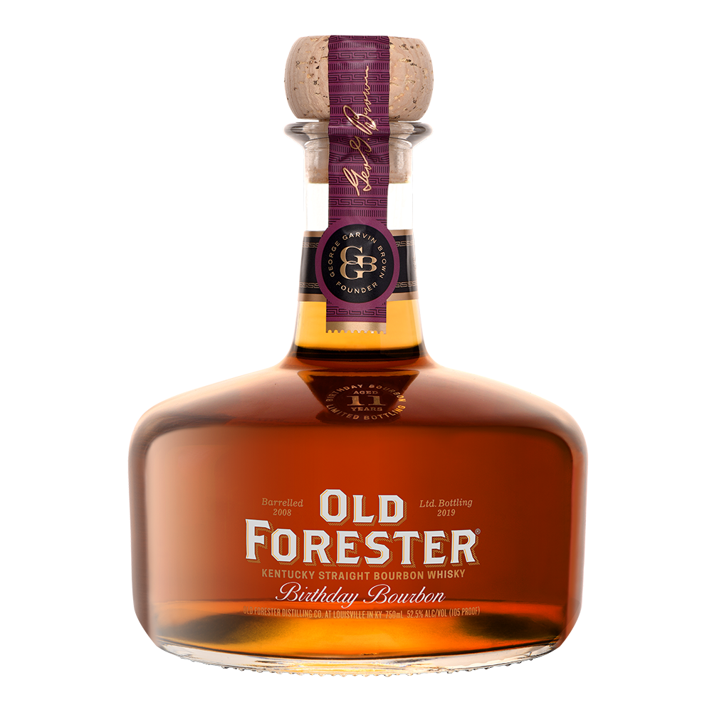 2019 Birthday Bourbon Bottle