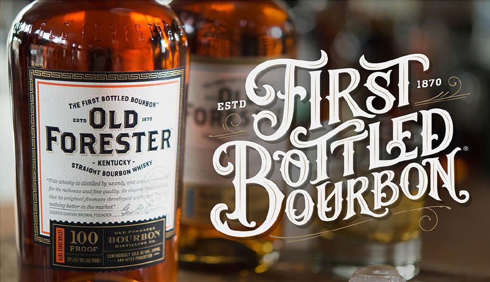 Old Forester First Bottled Bourbon Award Winning Bourbon