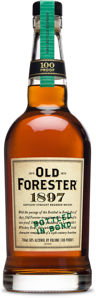 1897 Bottled in Bond Bottle