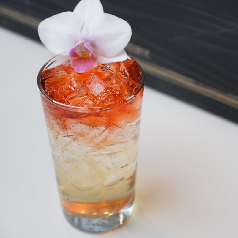Old Forester Orchid Highball