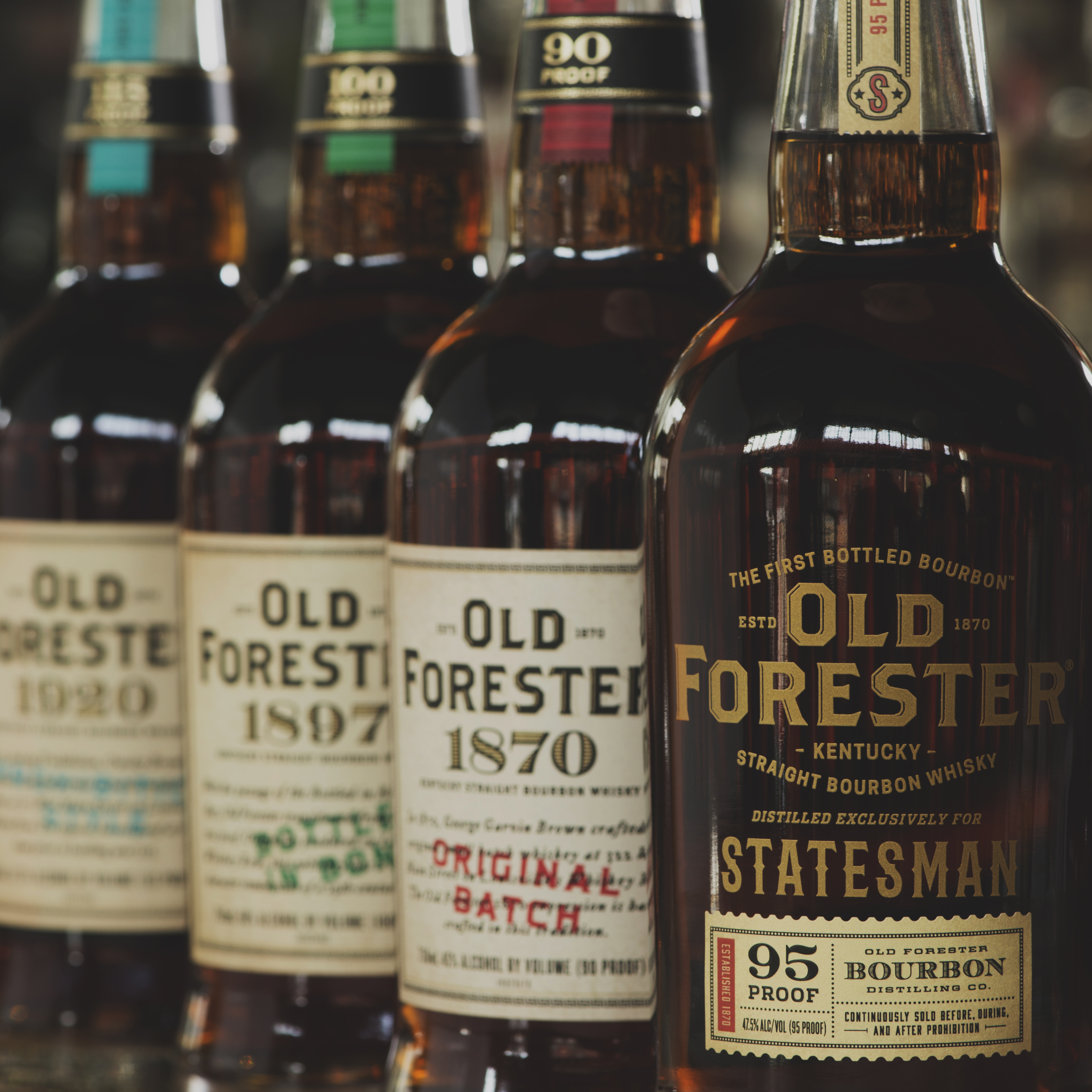 Old Forester Family of Brands