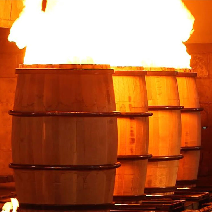 Barrel Charring