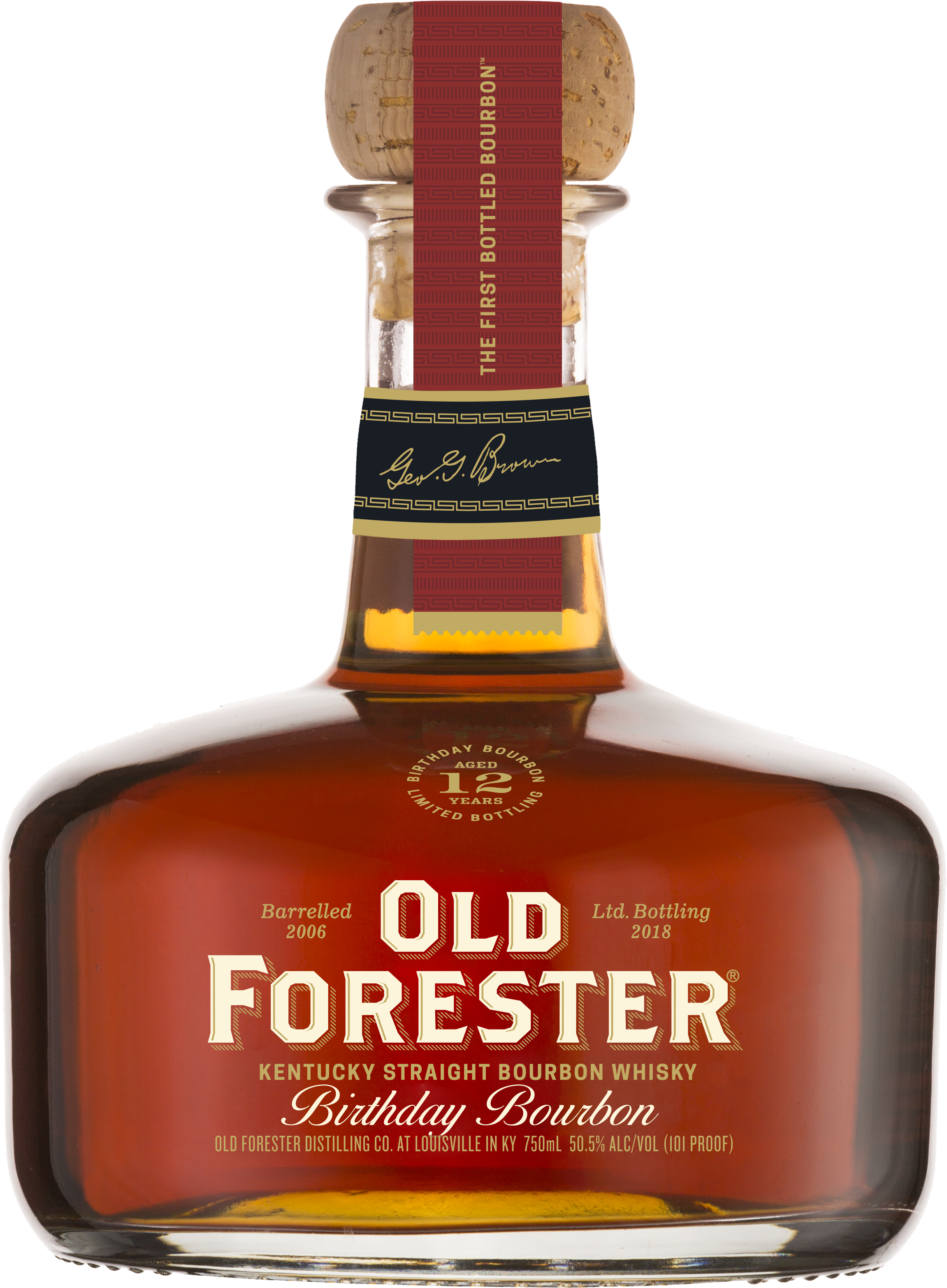 2018 Old Forester Birthday Bourbon