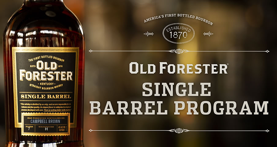 Old Forester Single Barrel bottle