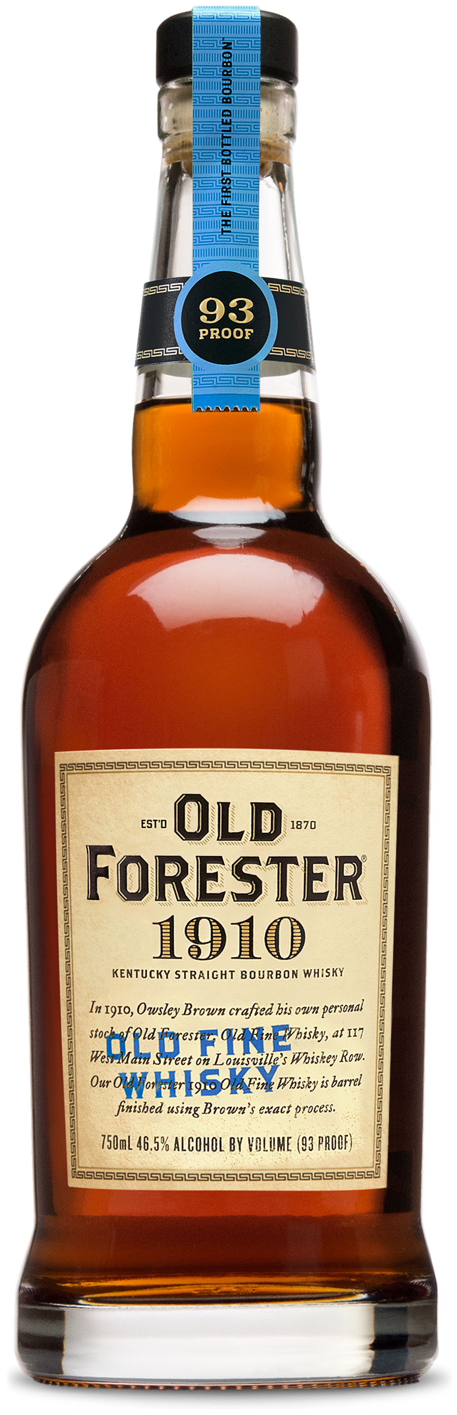 1910 Old Forester Old Fine Whiskey