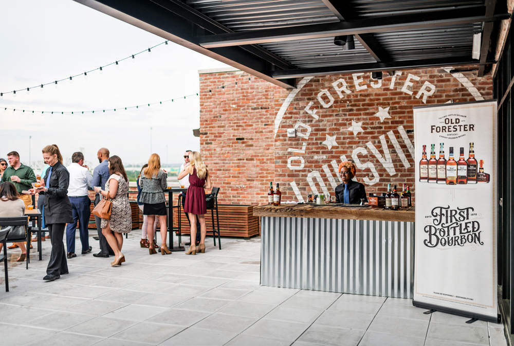 Old Forester Distillery Terrace