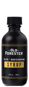 Old Forester Oleo-Saccharum Syrup