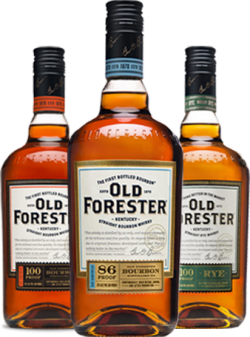 Old Forster bottles three