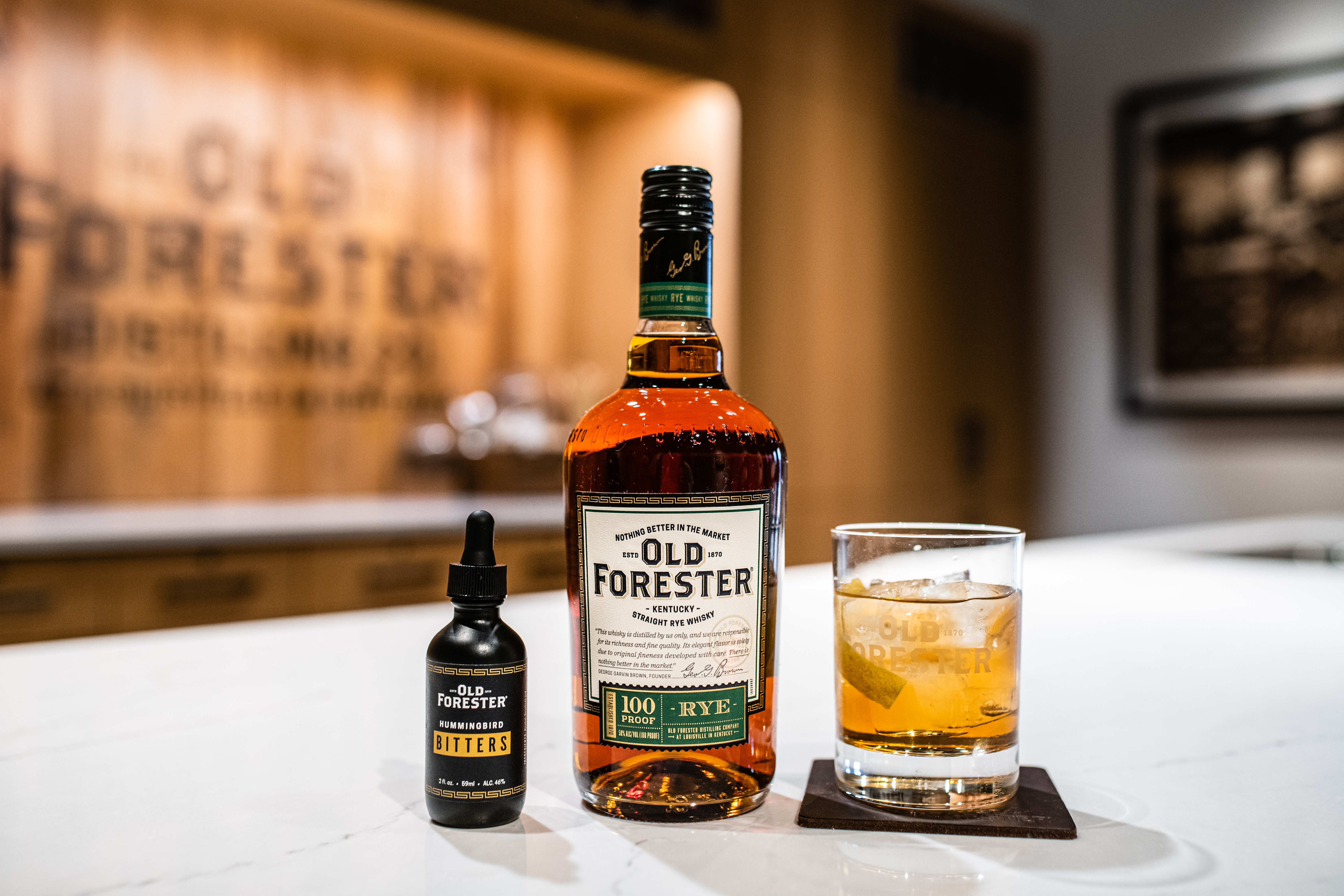 Old Forester Rye Old Fashioned