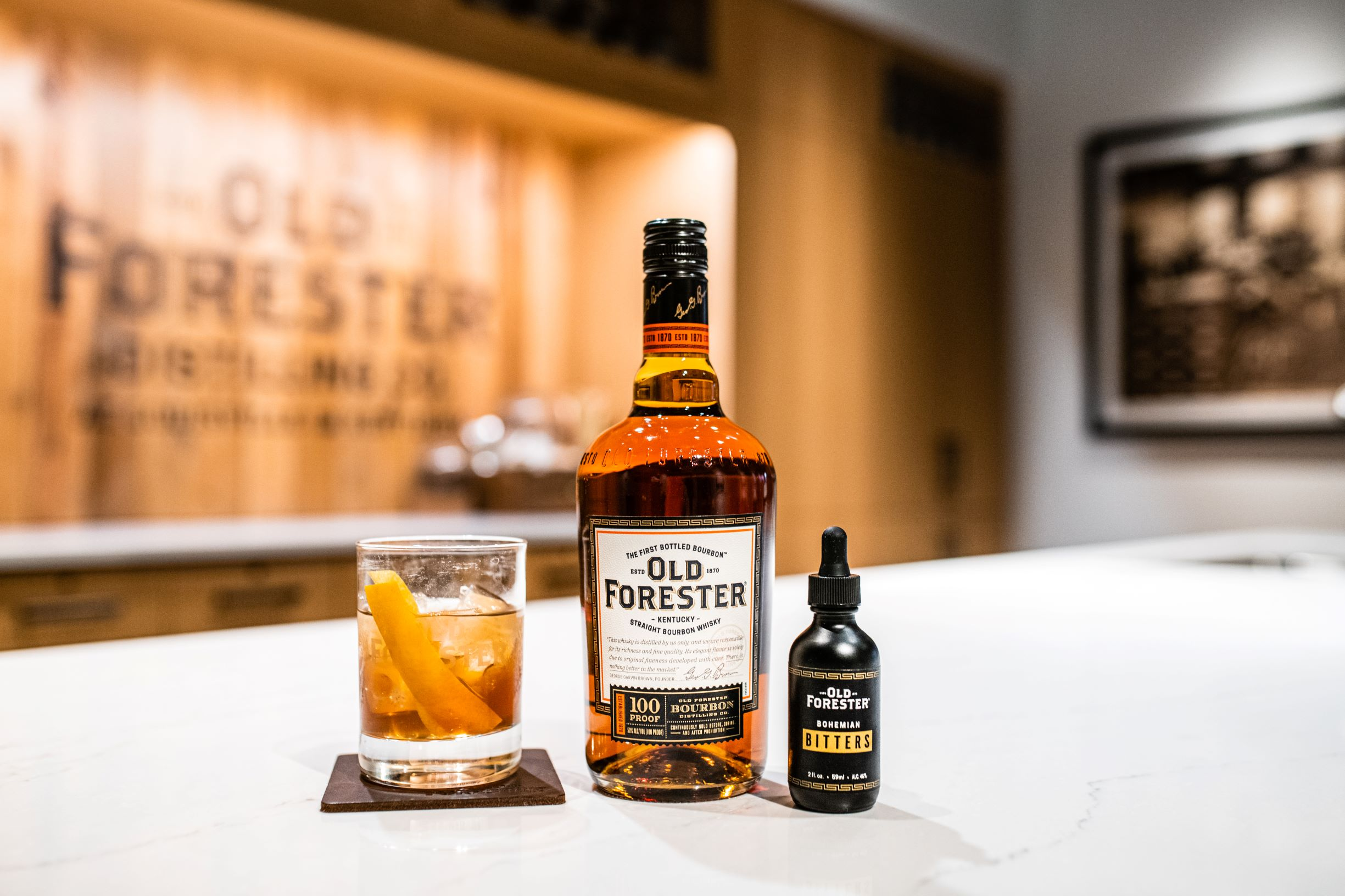 Old Forester 100 Proof Old Fashioned