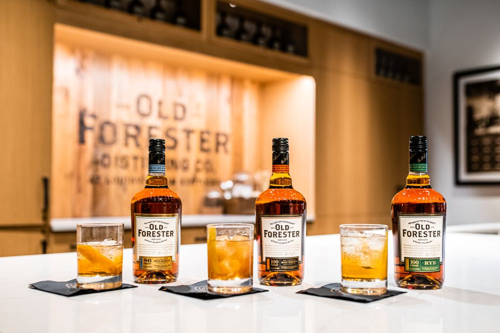 Old Forester Old Fashioned Trio