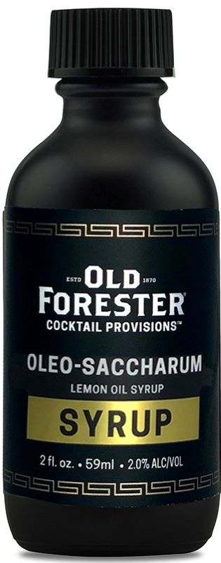 Old Forester Oleo-Saccharum 2oz